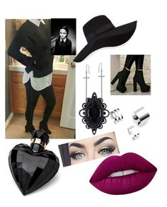 """""""Untitled #47"""" by stacymitchell-sm on Polyvore featuring San Diego Hat Co., Icz Stonez, Dsquared2 and Lipsy"""