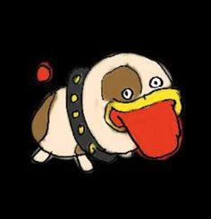 Official art of poochy from warioware gold Cursed Images, Yoshi, Gold, Character, Art, Sorting, Pictures, Art Background, Kunst