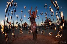 Burning Man 2010 - Nucleus by Kasia Danula-Billhartz - Photo by Scott London