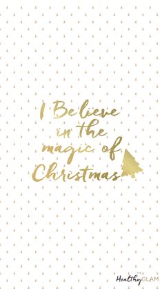 Free Christmas iphone Wallpapers.I believe in the magic of Christmas