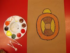 Art. Paper. Scissors. Glue!: Aboriginal Dot Paintings