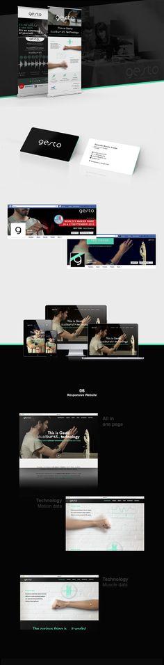 Gesto Brand & Website project image