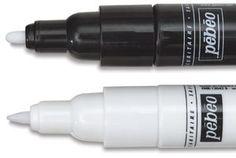 porcelain paint pens $5 from Blick