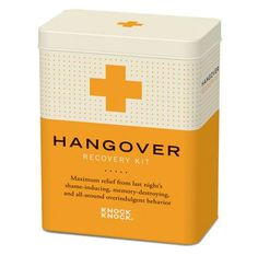 recovery kits for hangover - to include: Tylenol, Pepto-Bismol, saltine crackers, sleeping masks & water bottles. - for the girls:  makeup remover wipes, band aids, chapstick, mouthwash