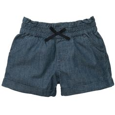 Chambray Bubble Shorts... look roomy for cloth dipes