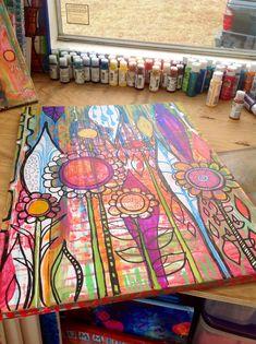 Painting & mixed media tutorials