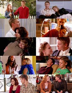 """LUCAS AND HALEY: """"Because my world is better with you in it, and because I love you Hales."""""""