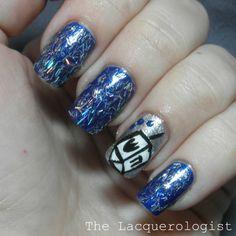 The Lacquerologist: Holiday Nail Art: Dreidel! Dreidel! Dreidel!