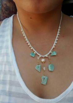 Amazonite necklace https://www.etsy.com/listing/233320769/amazonite-bib-necklace