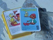 Vintage Pinocchio Quartett TOP 1977 Kartenspiel