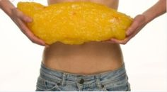 what 5 lb. fat looks like...seriously?!?!?!?  That just might be what I gained from all these holiday treats!