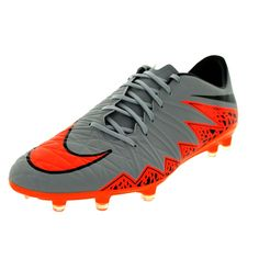 Experience the comfort and style of these Nike Men s Hypervenom Phatal Ii  Fg Wolf Grey  3aeb77688ae