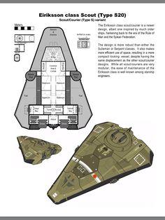 Eiriksson deckplan by Finnulf, design by Bryan Gibson, render by Ted Lindsey
