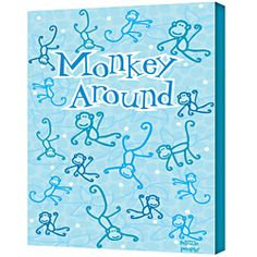 @Overstock.com - Artist: Felittle People Title: Monkey Around Product type: Gallery Wrapped Canvas Art  http://www.overstock.com/Home-Garden/Felittle-People-Monkey-Around-Gallery-Wrapped-Canvas-Art/6982678/product.html?CID=214117 $49.99