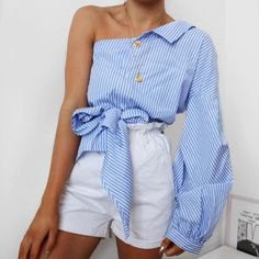 Stylish outfit idea to copy ♥ For more inspiration join our group Amazing Things ♥ You might also like these related products: - Tops & Tees ->. Classy Outfits, Stylish Outfits, Beautiful Outfits, Fashion Outfits, Girly Outfits, Womens Fashion, Summer Fashion Trends, Fashion Ideas, Fashion Inspiration