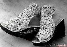 Светлана Томина - Вдохновение из Интернета (вязаная обувь) | OK.RU
