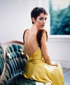 Image result for winona ryder pixie cut