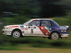 Mikael Ericsson - Claes Billstam 39th 1000 Lakes Rally 1989 (Mitsubishi Galant VR-4)