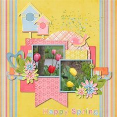 Signs of Spring - Scrapbook.com