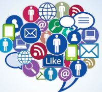 social media and brand marketing illustration  https://proengage.com/digital-marketing-company-houston-tx/