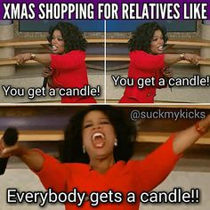 You get a candle too!!!