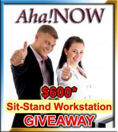 Why Use Standing Desks? Win $600 Sit to Stand Workstation Giveaway! | iphone6giveaway.wordpress.com offer