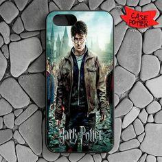 Harry Potter Deathly Hallows iPhone SE Black Case