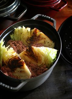 Cabbage & Corned Beef