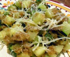 Fleur de Lolly: Sauteed Italian Styled Zucchini with Parmesan