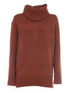 DIANE VON FURSTENBERG Diane Von Furstenberg Oversized Turtleneck Sweater. #dianevonfurstenberg #cloth #sweaters