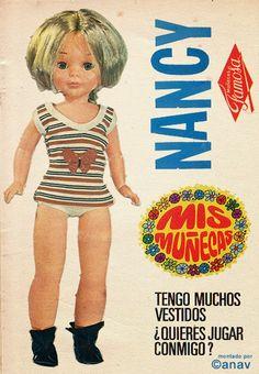 Minha aventura NANCY: bonecas de recorte