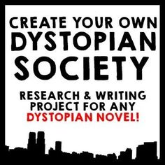 Create Your Own Dystopian Society!  This Common Core aligned research and…