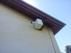 Cámara IP HD720P en proceso de instalación - Complejo Rincón de Luz - Villa Ventana