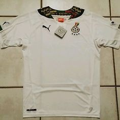 NWT Authentic PUMA Ghana National Team Home Soccer Jersey Men's Small
