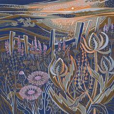 Seed-heads Annie Soudaine, Rye Society of Artists
