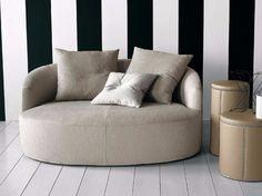 Download the catalogue and request prices of Francesca by Casamilano, fabric small sofa design Roberto Lazzeroni