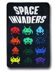 Space Invaders Throw Blanket