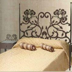 Cabecero forja cama