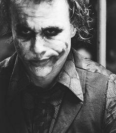 Heath Ledger as The Joker, what a heart throb ♥