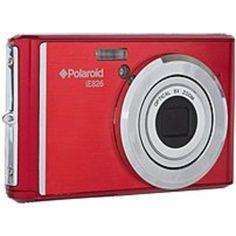 Polaroid IE-826-RED iE826 18.0 Megapixel Digital Camera - 8x Optical-4x Digital - 2.0-inch LCD Display - Red