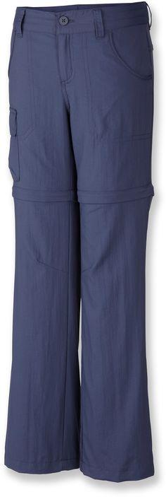 Columbia Silver Ridge III Convertible Pants - Girls' - REI.com