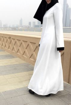 Abaya de perle / blanc Abaya / Plus taille Abaya / Abaya avec