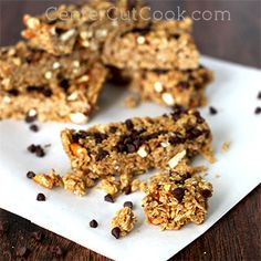 ... no bake on Pinterest | Granola bars, Peanut butter and Chocolate chips