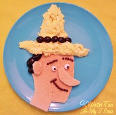 Curious George & The Man in the Yellow Hat Breakfast! - Kitchen Fun With My 3 Sons