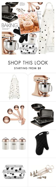 """ButterScotch"" by fee4fashion ❤ liked on Polyvore featuring interior, interiors, interior design, home, home decor, interior decorating, Kate Spade, Crate and Barrel, Calphalon and Typhoon"