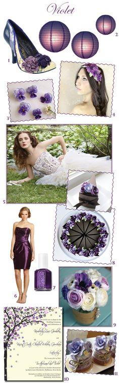 #Violet #Wedding Inspiration - #Purple by Sweet Violet Bride