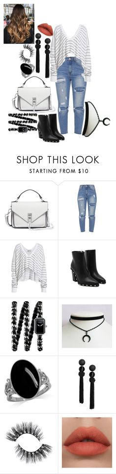 """Back to the top."" by kawaiiibunny ❤ liked on Polyvore featuring Rebecca Minkoff, Wildfox and Chanel"
