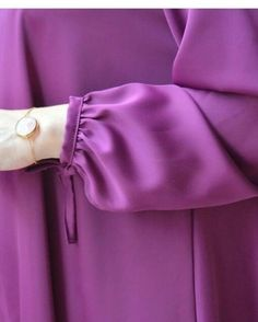 Full Sleeves Design, Kurti Sleeves Design, Sleeves Designs For Dresses, Dress Neck Designs, Sleeve Designs, Frock Fashion, Abaya Fashion, Muslim Fashion, Fashion Dresses
