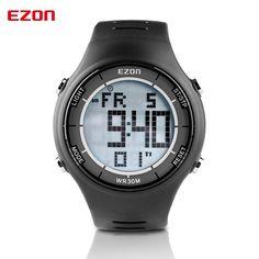 >> Click to Buy << EZON Fashion Brand Men Women Sports Watches Leisure Ultra-thin Digital Sport Watch 30M Waterproof Alarm Stopwatch Wristwatches #Affiliate