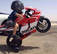 Little guy on a Ducati! Ducati, Motorcycle Baby, Motorcycle Outfit, Mini Bici, Cool Baby, Toy Cars For Kids, Kids Ride On, Biker Girl, Biker Baby